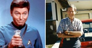 remembering Deforest Kelley, on what would've been his 94th Birthday.