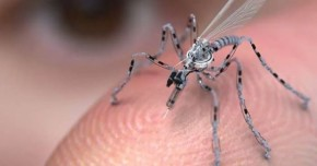 Miniature mosquito drones out for your DNA