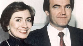 Officially Vince Foster, a suicide – but suggesting much more.