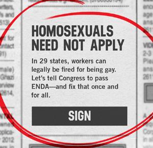 Que significa homosexual discrimination